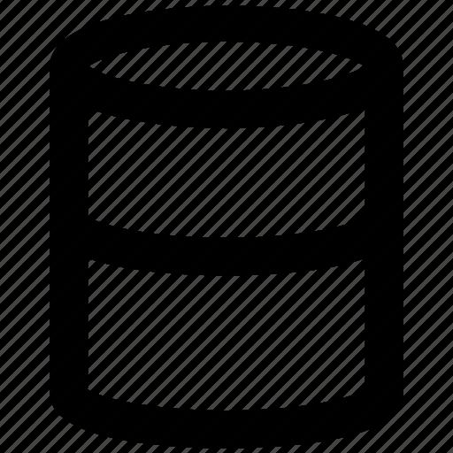barrel, concrete drum, drum, energy gallon, fuel gallon icon