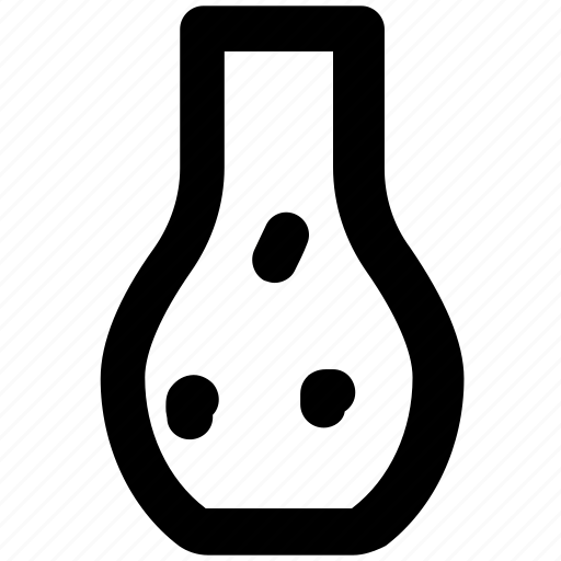 elementary flask, erlenmeyer flask, flask stand, lab accessories, lab equipment, lab flask icon