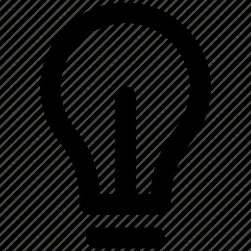 bulb, electric light, flash bulb, incandescent lamp, light bulb icon