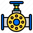 engineer, factory, gas, industrial, oil, technology, valve icon