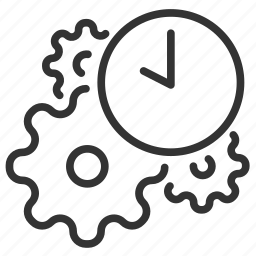 cogwheel, industrial, industry, machinery, process, production icon