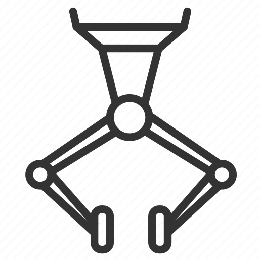 clamp, industrial, industry, machine, manufacturing, process, production icon