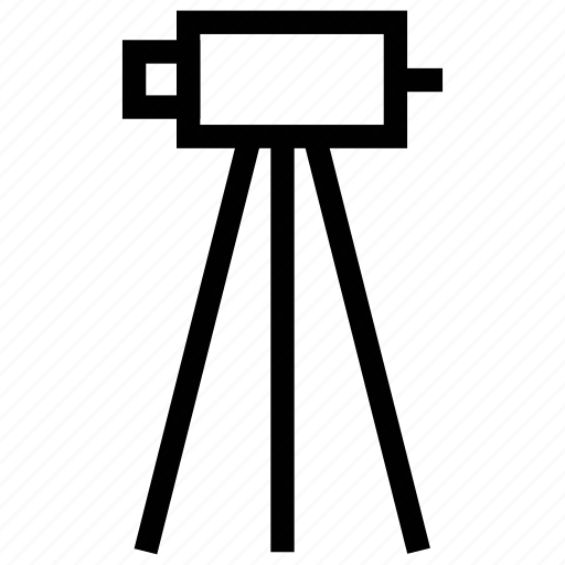 camera, engineer camera, industrial camera, movie camera, survey camera icon