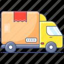 cargo, van, delivery vehicle, cargo van, delivery truck, transportation bus, cargo bus