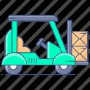 forklift, forklift truck, transport forklift, loader, construction vehicle