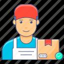 logistic, worker, labourer, engineer, labor, operator