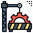 building, construction, engineering, renovate, repair, tool, work icon