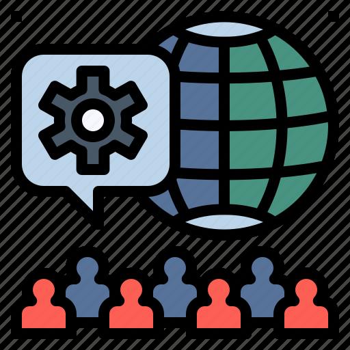 business, crowd, mass, people, population, teamwork, user icon