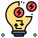 energy, engine, force, idea, power icon