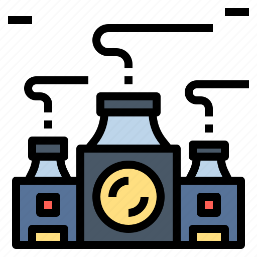 Factory, industrial, industry, manufacturing, plant, production, workshop icon - Download on Iconfinder
