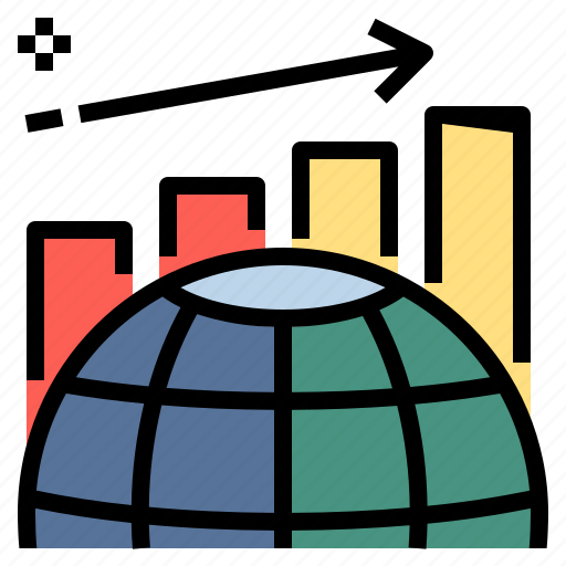 analytic, business, development, graph, growth, improve, trend icon
