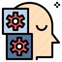 automaton, engineering, machine, mechanism, robot, technician, technology icon