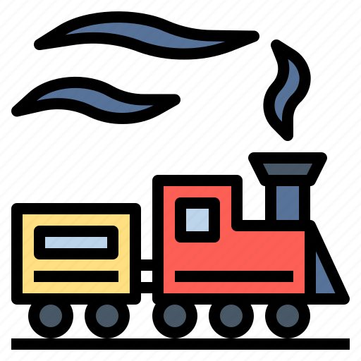 railroad, railway, tourism, train, transport, transportation, travel icon