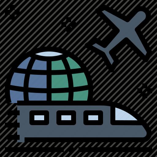 tourism, transport, transportation, travel, trip, vehicle, voyage icon