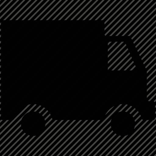 delivery transport, delivery van, transport, van, vehicle icon