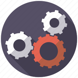 cogs, equipment, gears, industrial, industry, machinery, teamwork icon