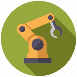 equipment, factory, industry, machinery, robot, robotics icon