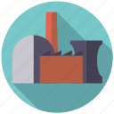 building, energy, industry, nuclear power, power plant