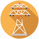 energy, equipment, industry, power line, pylon icon