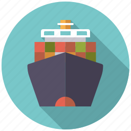 container, equipment, industrial, industry, ship, shipping, transportation icon