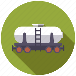 equipment, industry, kettle, liquids, railroad, transportation, waggon icon