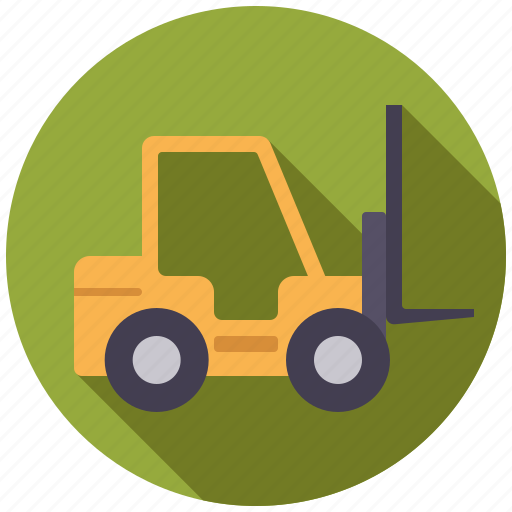 equipment, fork-lift, industrial, industry, machinery, vehicle, warehouse icon