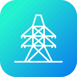 derrick, electric, electricity, energy, industry, power, rig icon