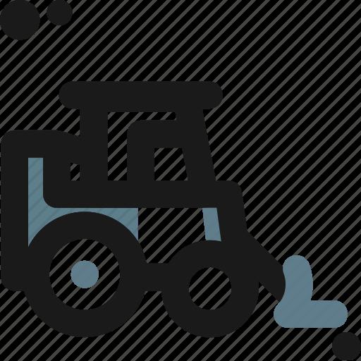 backhoe, car, construction, crawler, loader, machine, truck icon