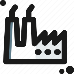 contamination, factory, industrial, plant, pollute icon