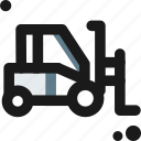 crawler, lifter, loader, machine, merchandise, tractor, truck icon