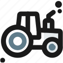 agriculture, agrimotor, crawler, farmer, farming, husbandry, tractor icon