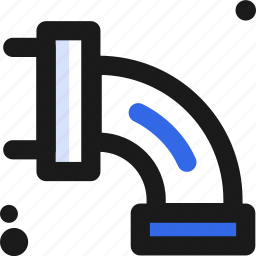 distribution, pipe, water icon