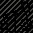 gear, oil pumpjack, oil well pumpjack, oilfield, pumpjack, refinery icon icon