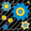 cogwheel, cogwheels, configuration, gear, industry, settings, tools icon