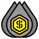 coin, coins, commerce, dollar, hand, hands, money icon