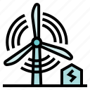 device, ecologic, energy, industry, kinetic, turbine, utensils icon