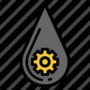 drop, drops, nature, rain, teardrop, water, weather icon