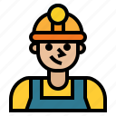 avatar, job, man, occupation, people, user, worker icon