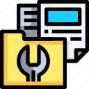 document, documents, extension, file, folder, format icon