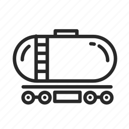 car, construction, industry, tank, technology, train icon