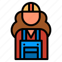 constructionworker, constructor, constructorworker, women, worker icon
