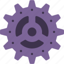 cogs, factory, industrial, machinery, machines icon