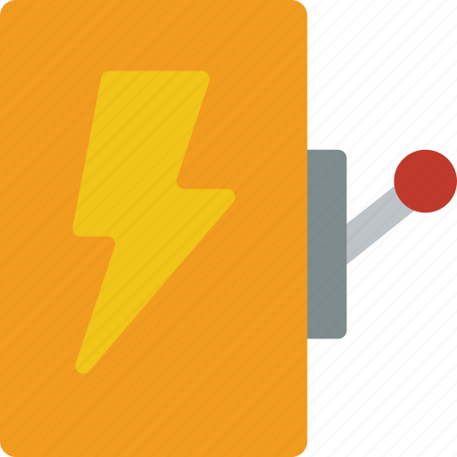 electricity, factory, industrial, industry, machinery, machines, switch icon