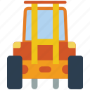 factory, forklift, industrial, machinery, machines icon