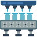 bottle, factory, industrial, machinery, machines, manufacturing icon
