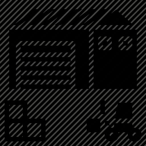 merchandise, product, stock, storage icon