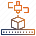 3d, 3dprinting, print, printing icon