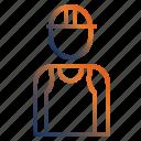 constructionworker, constructor, constructorworker, man, worker icon