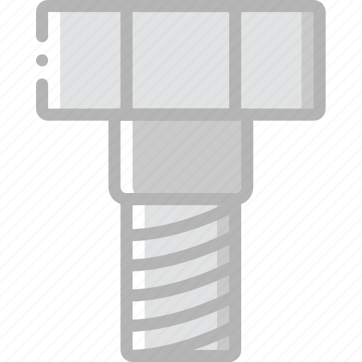 bolt, factory, industrial, industry, machines, manufacture icon