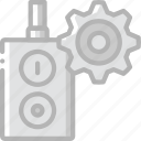 factory, industrial, industry, machines, manufacture, off, on, switch icon